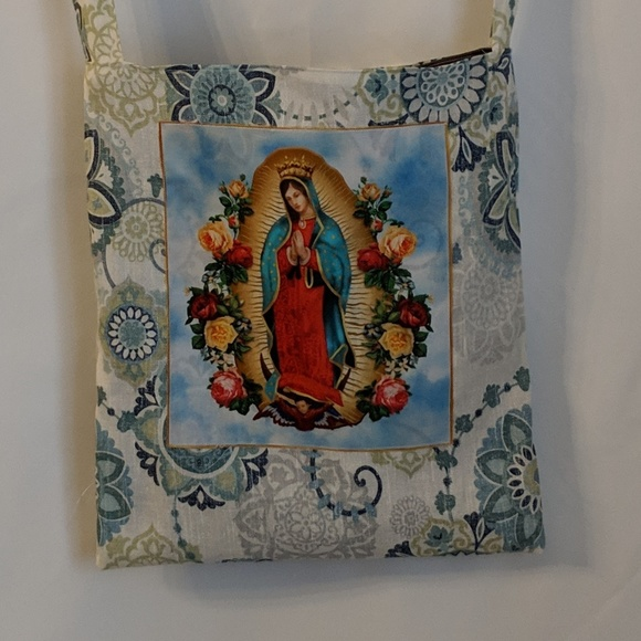 Milk Drunk Clothing Handbags - Our Lady Of Guadalupe Market Bag Shopping Tote NWT